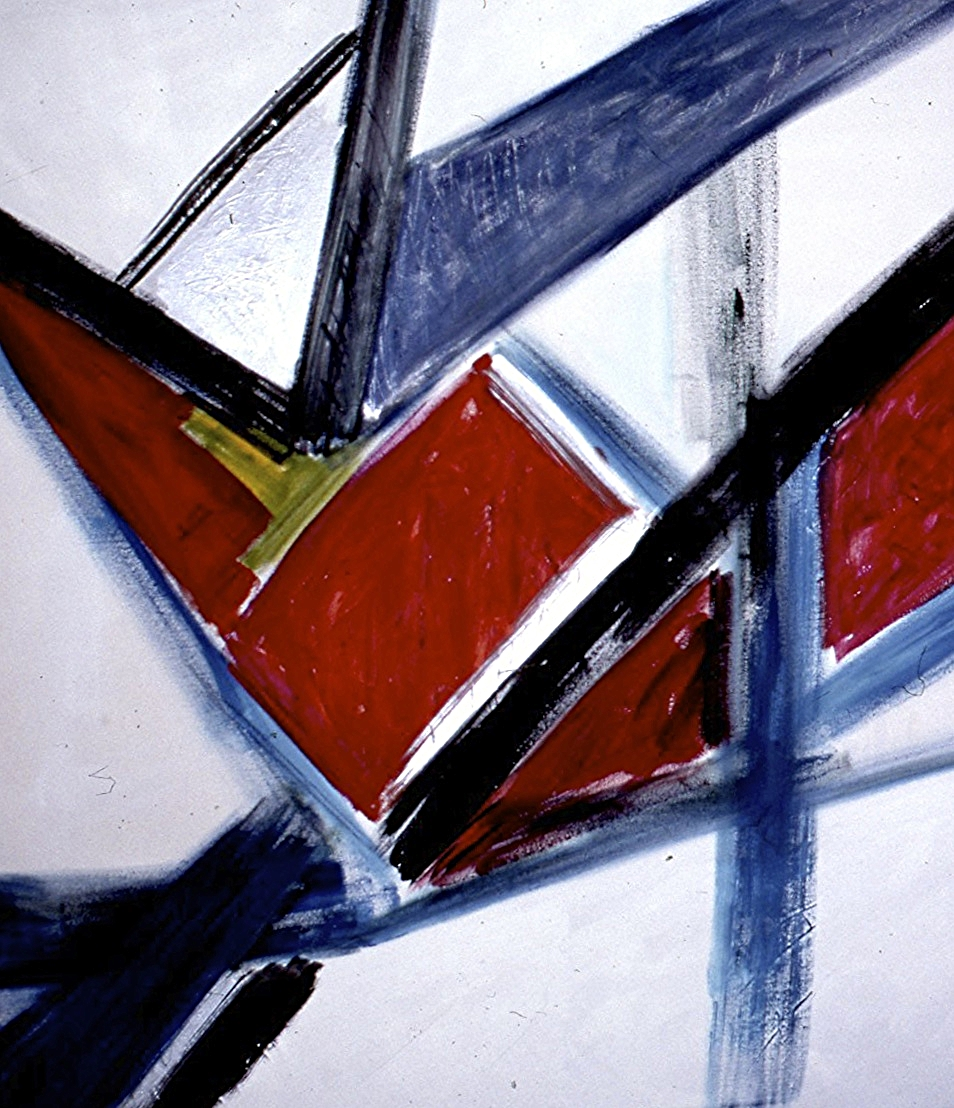 acrylic on canvas 60 in. x 60 in.   1984