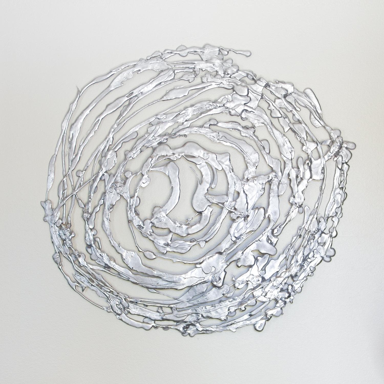 Vortex- Recycled Aluminum - 4' x 4'