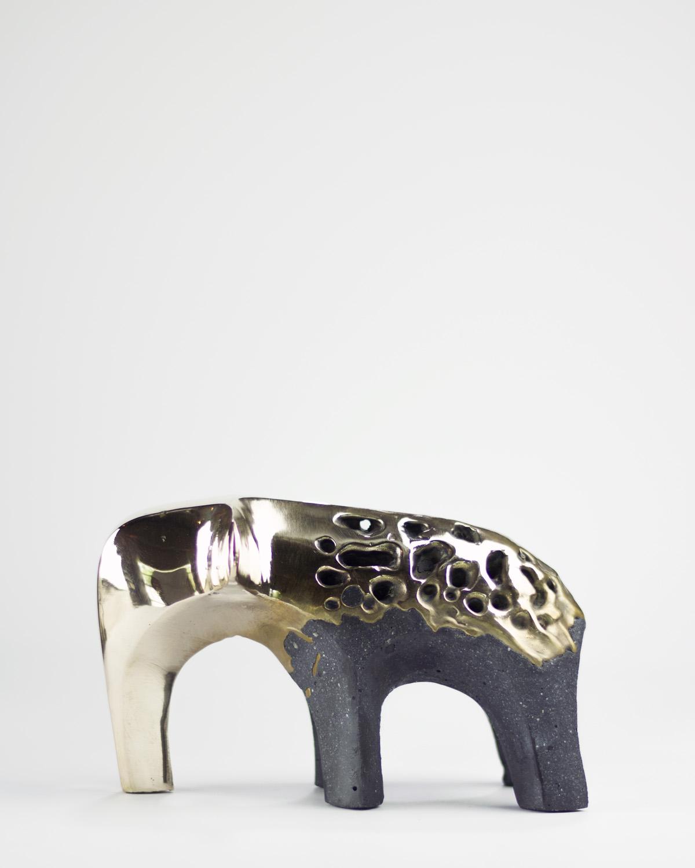 Textured Bronze-Carbon