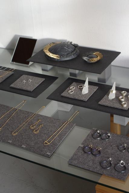 Open studios display