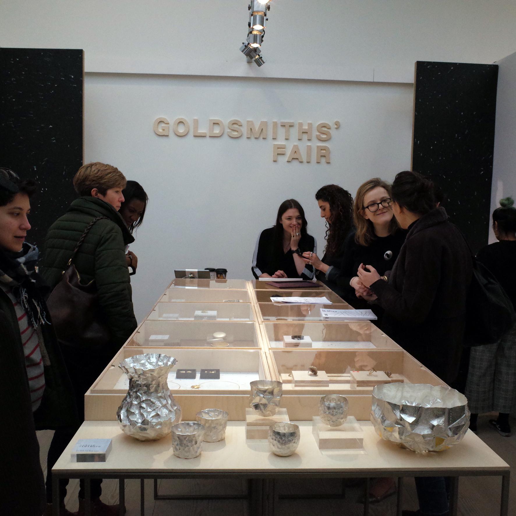 Goldsmiths Fair stand