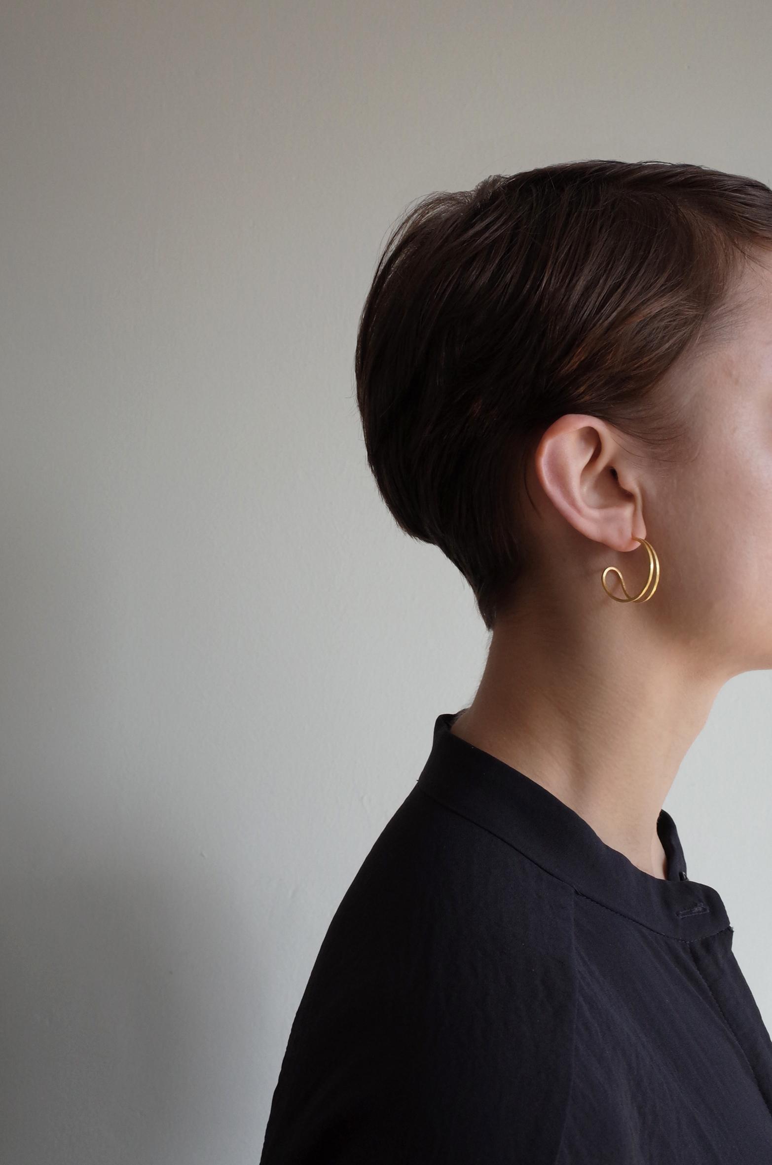 Teardrop hoop earrings by Heather Woof Jewellery.jpg