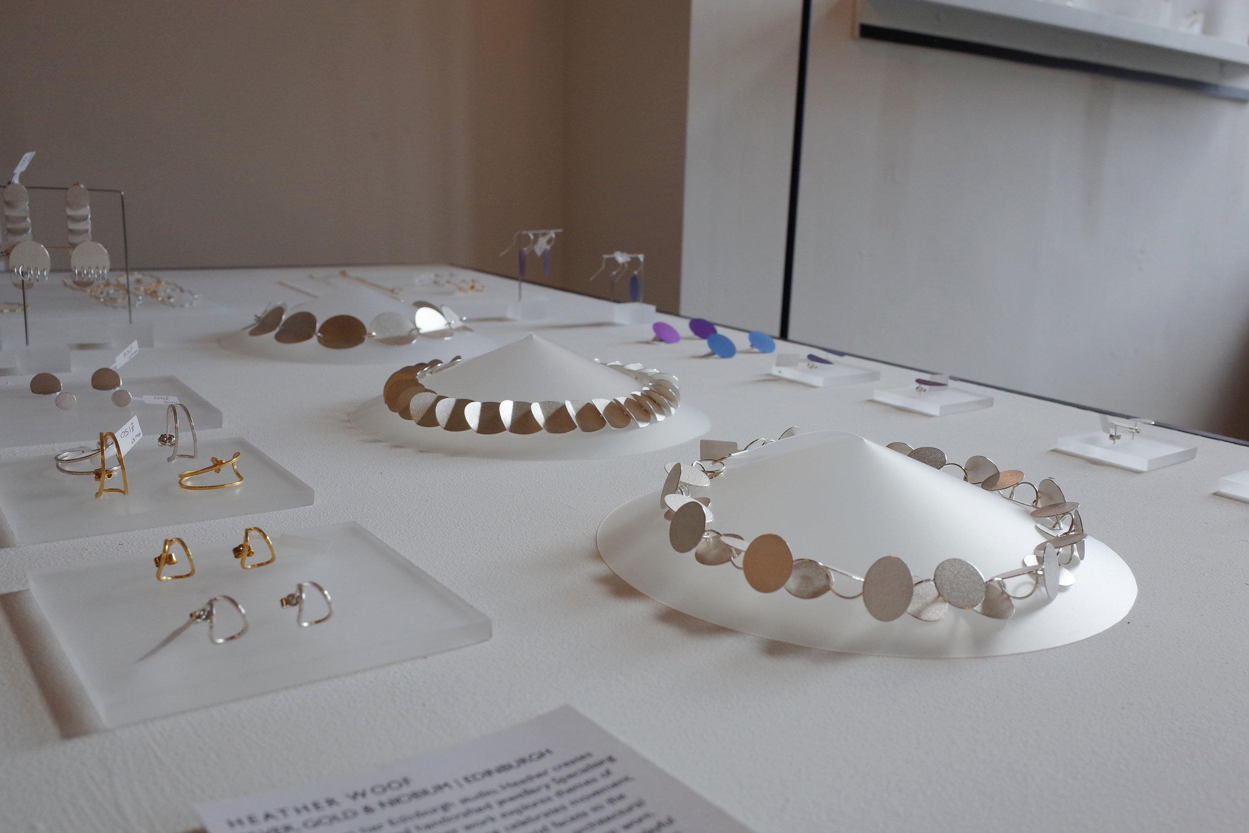 Heather Woof Jewellery at Craft Scotland Summer show