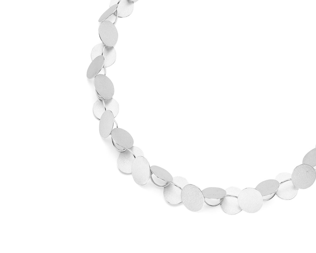 Bold Rhythm necklace   Sterling silver