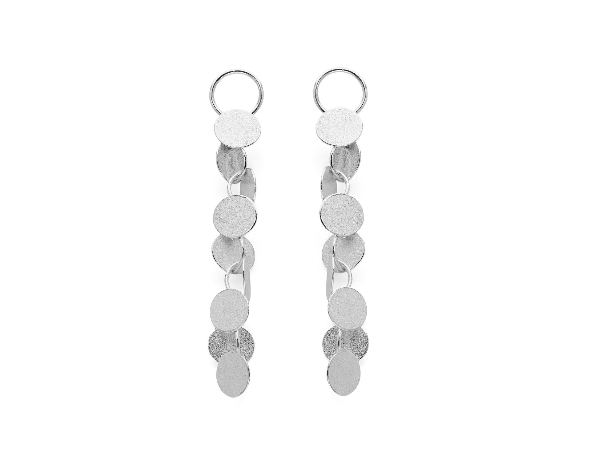 Rhythm Earrings   Sterling silver