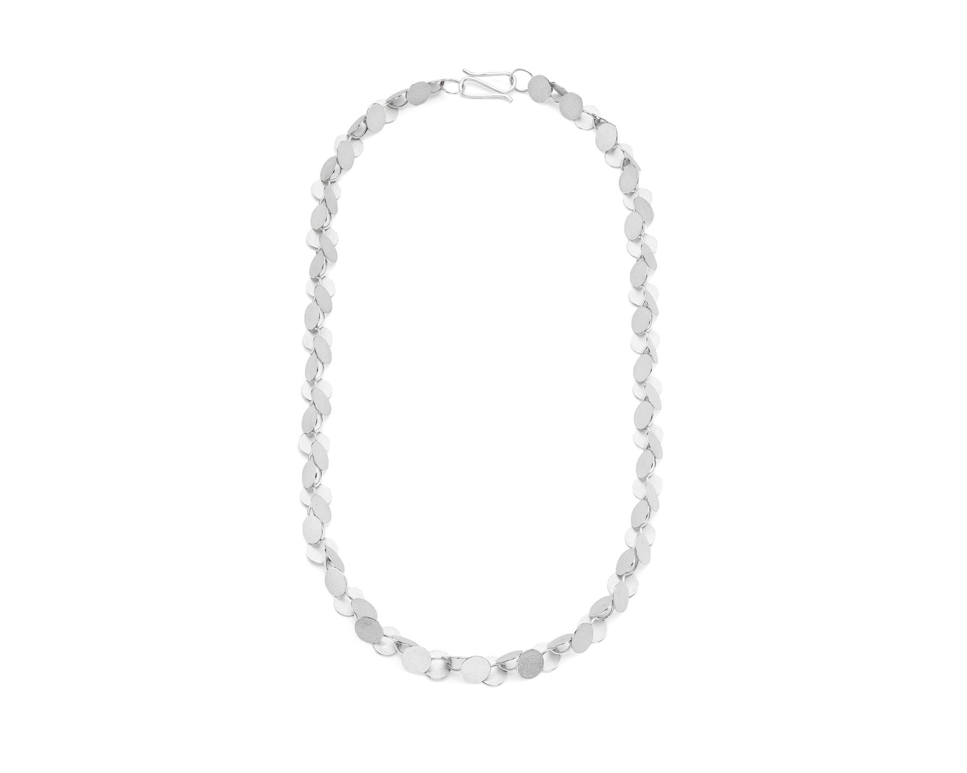 Rhythm Necklace   Sterling silver