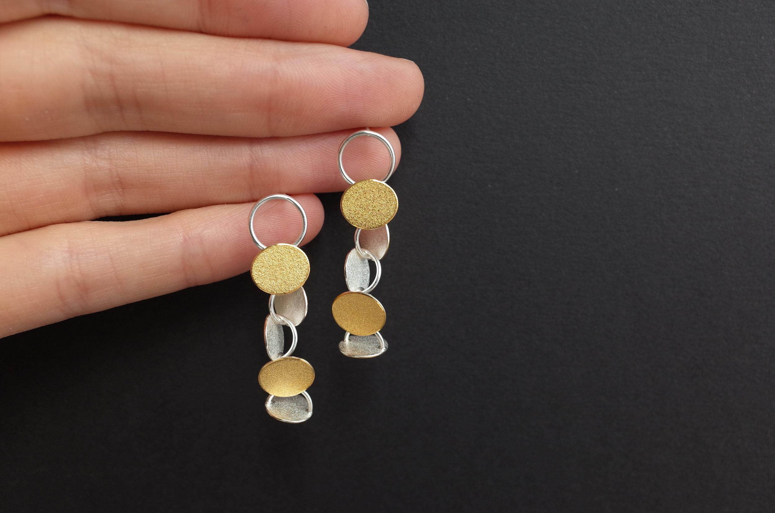 Heather Woof Jewellery Rhythm Earrings