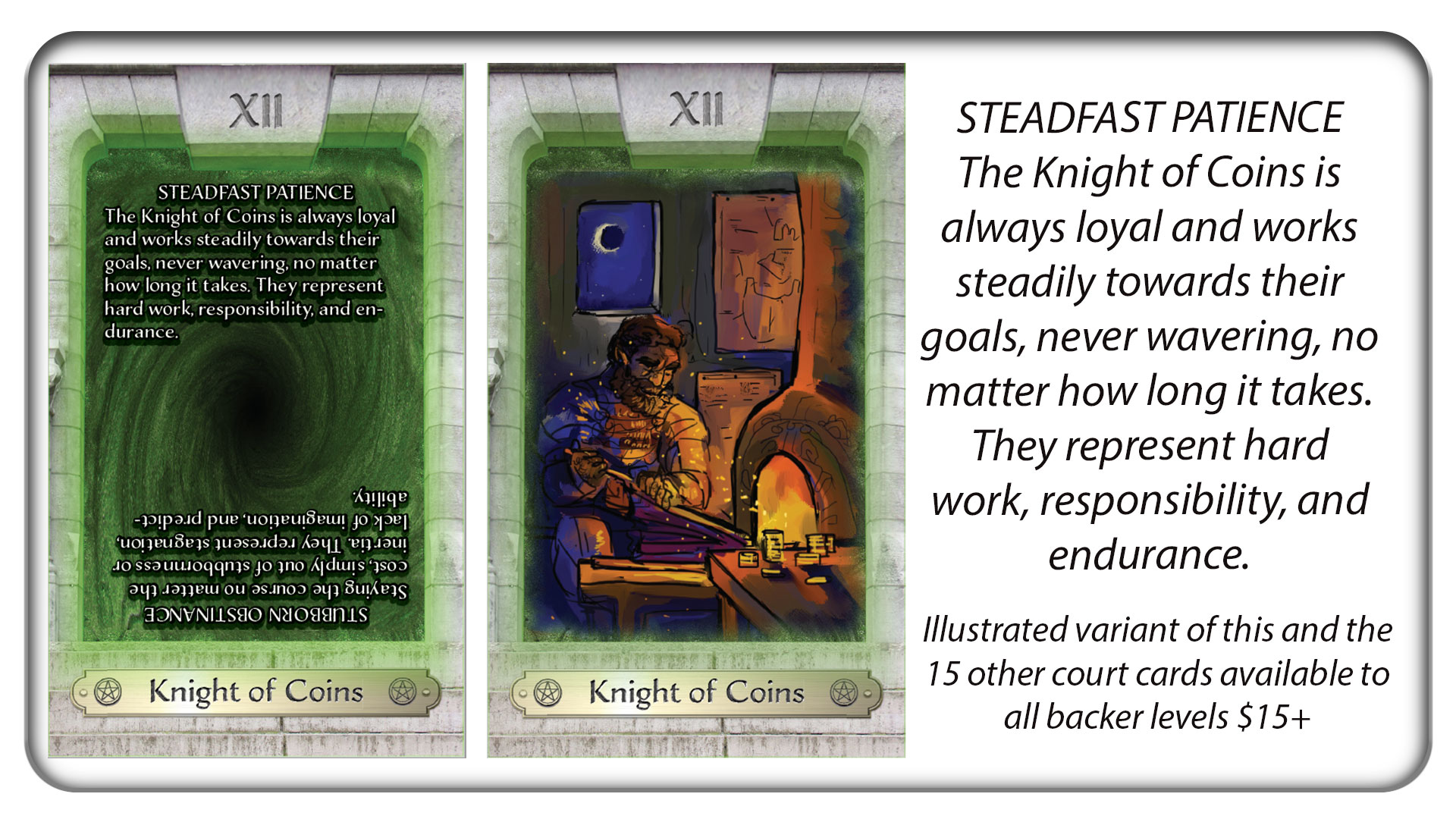 The Knight of Coins: Steadfast Patience