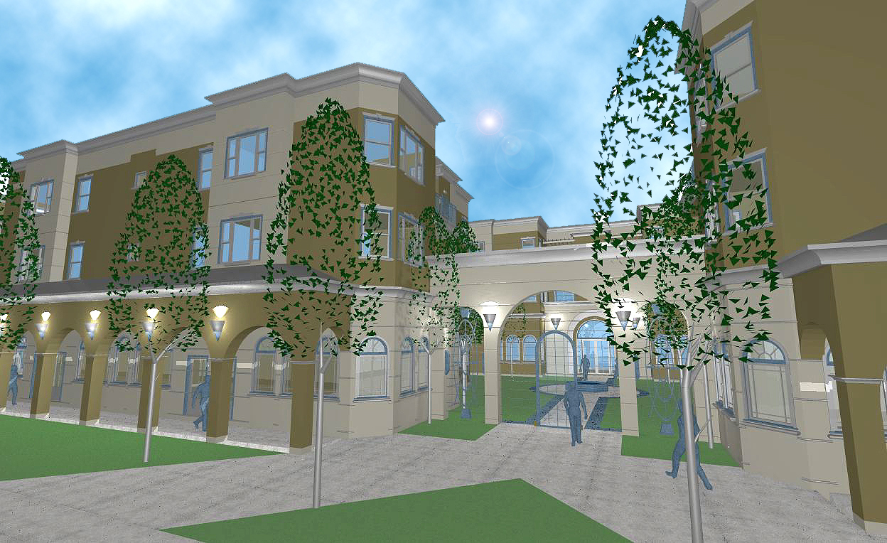 Tower Senior Village, Compton,CA    Mixed-use: Concept package for inter-city Senior Living. Adaptive re-use of depressed C-zone, tomixed-use Office and Retail, supported by Senior Citizen Housing.