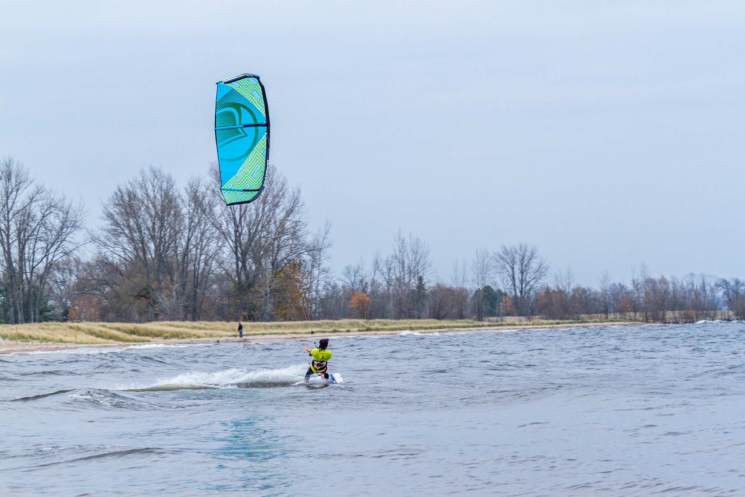 2016 Liquid Force WOW Kiteboarding Kite Review Riding Upwind