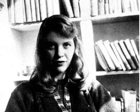 Sylvia Plath. Image from Wikimedia Commons