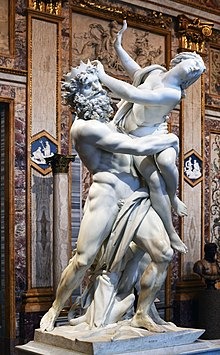 The Rape of Prosperina, image from Wikipedia Commons