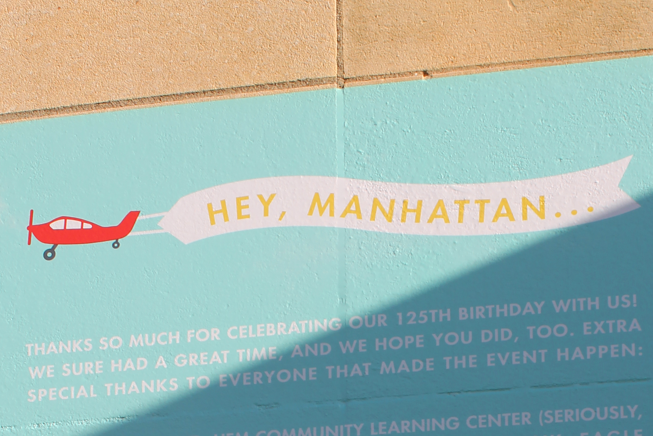Creative and community events make a lasting mark on Manhattan's downtown spaces