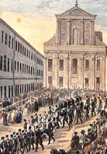 Beethovan's Funeral, March 29, 1827