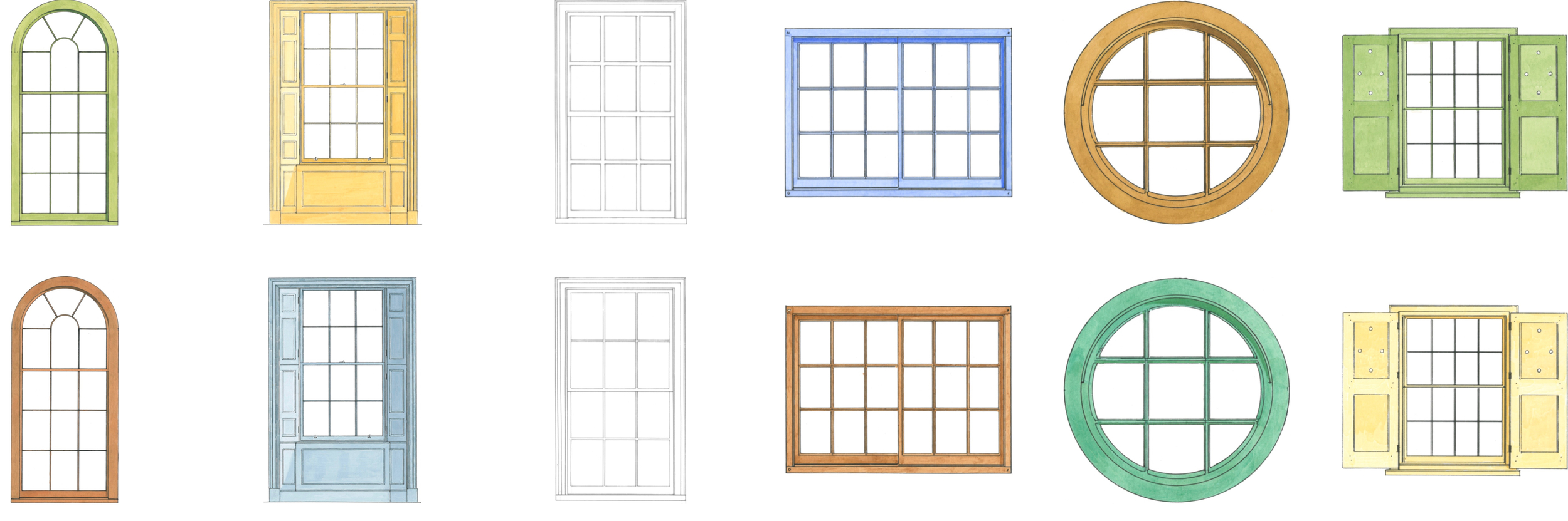 handmade windows