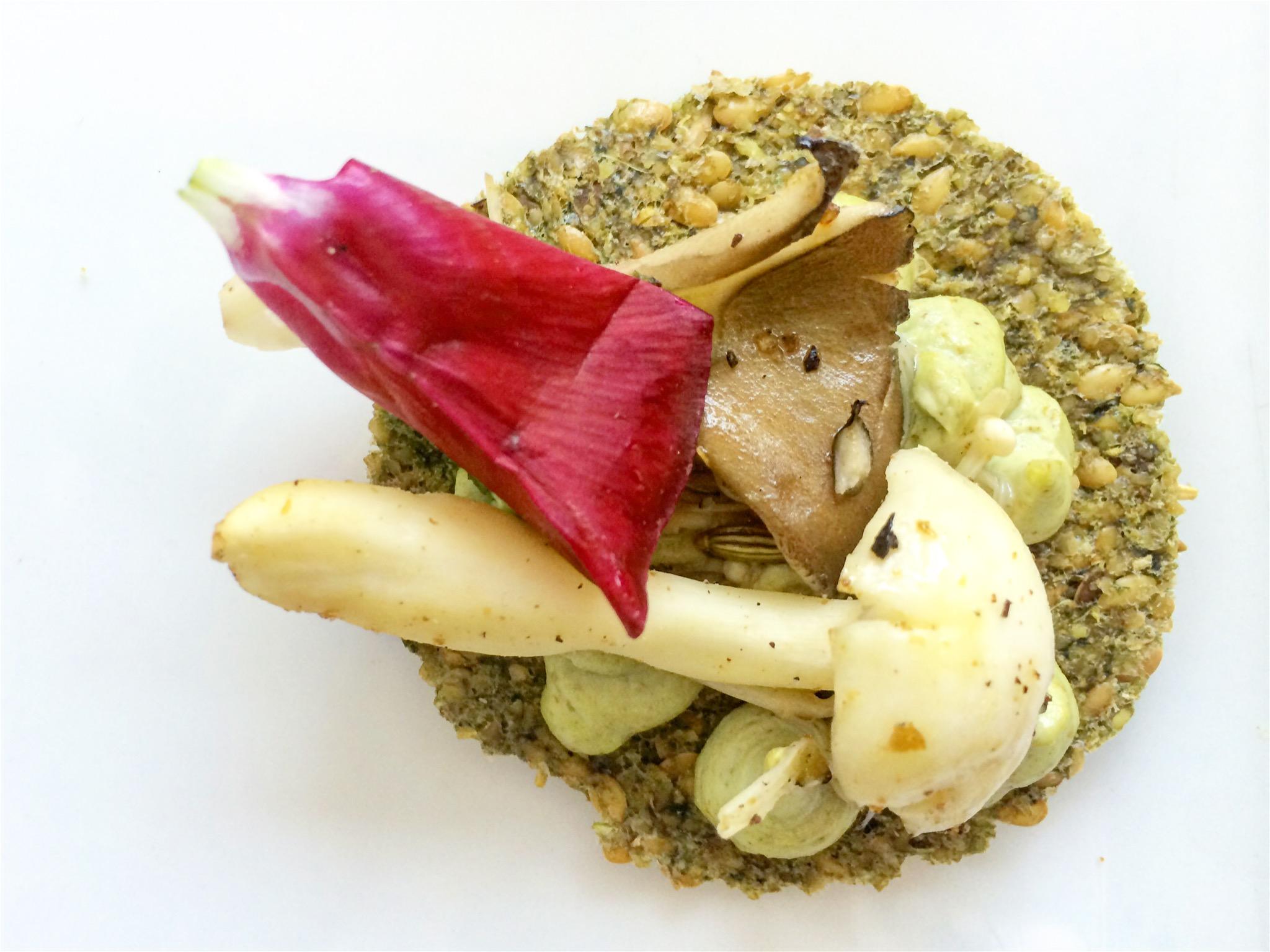 Mushroom Celery Toast