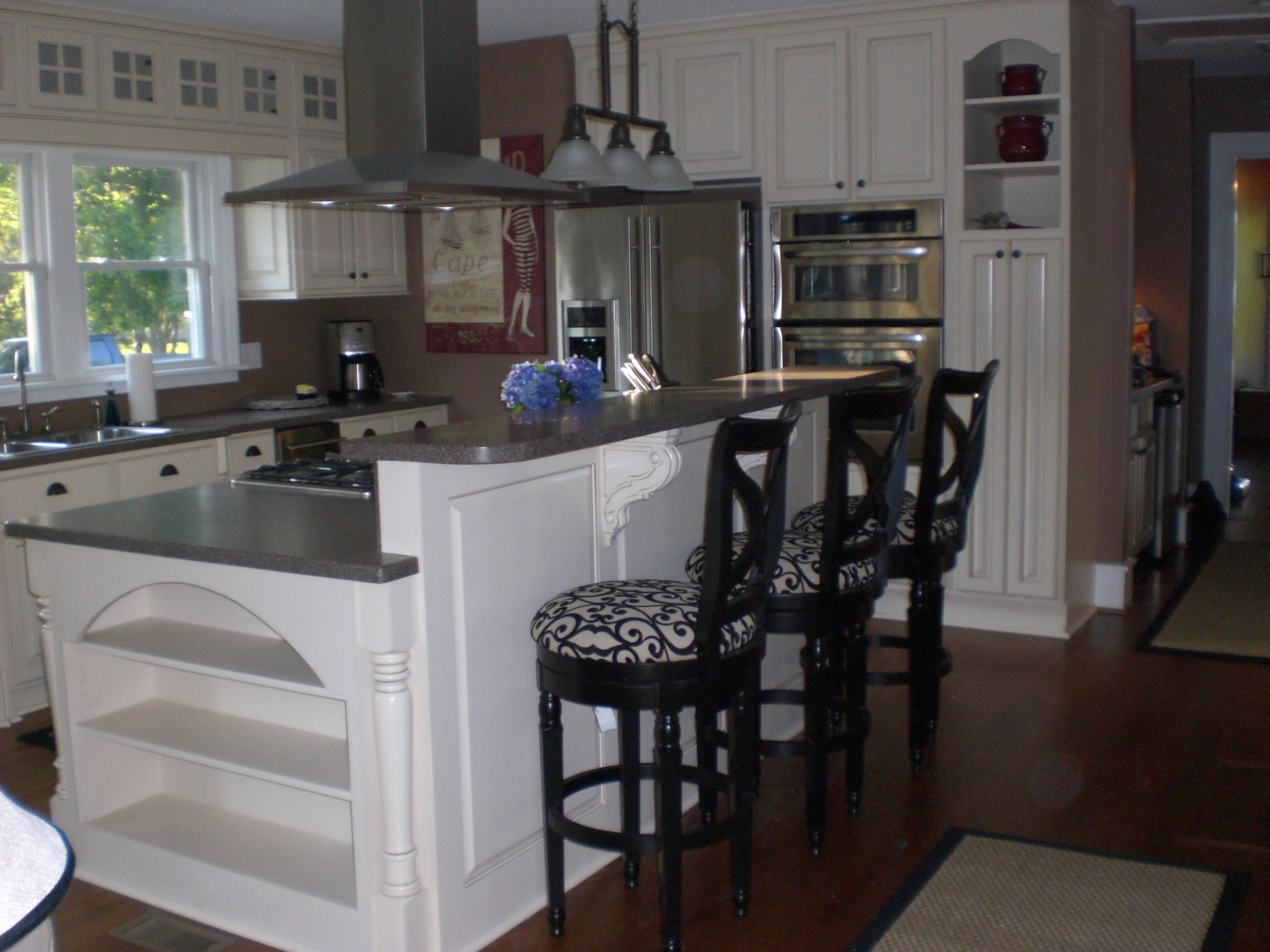 Image of: Custom Kitchen Islands Bull Restoration