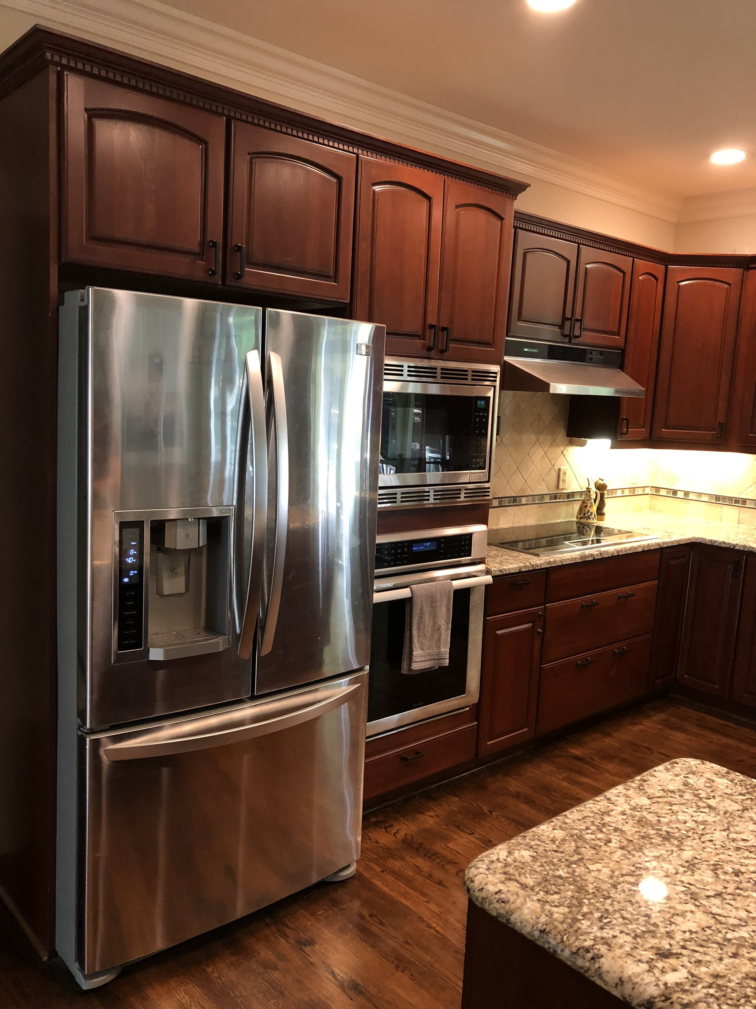 Kitchen Cabinets Refinishing Refacing Redooring Custom