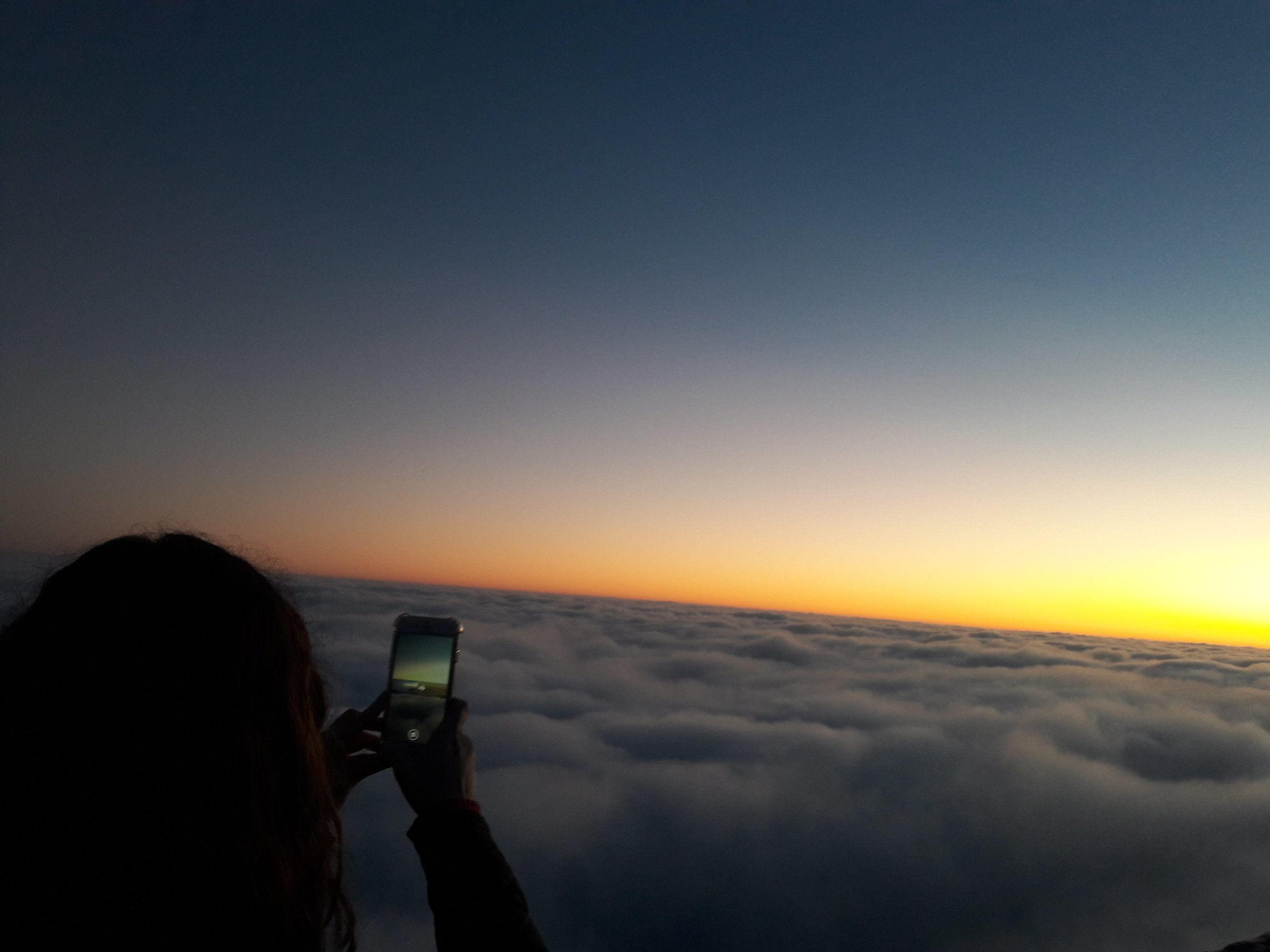 above the clouds, baja california