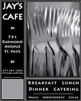 Jay's Cafe Ad #2