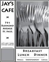 Jay's Cafe Ad #3