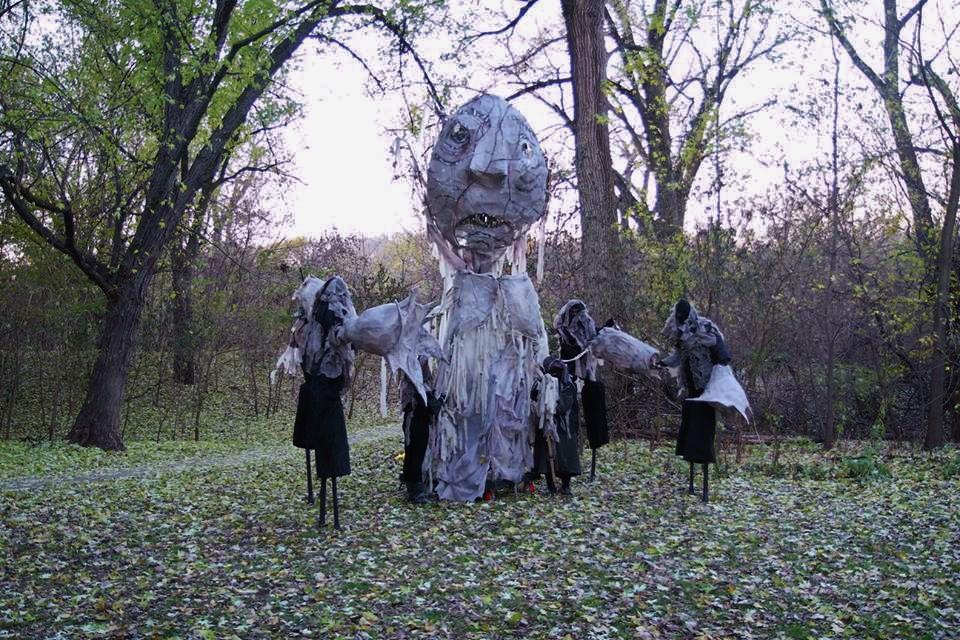 Grief Beast Puppet
