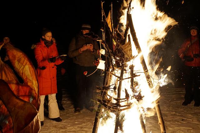 Burning ritual