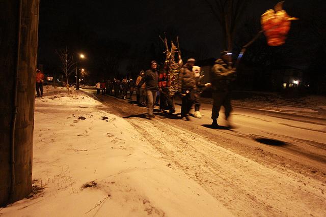 Funerary procession