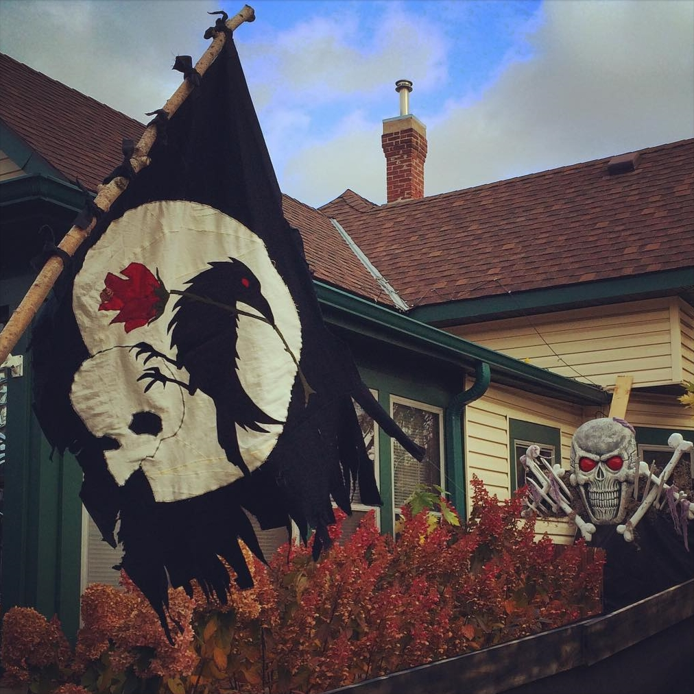 Pirate Flag & Archway