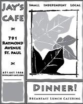 Jay's Cafe Ad #4