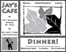 Jay's Cafe Ad #1