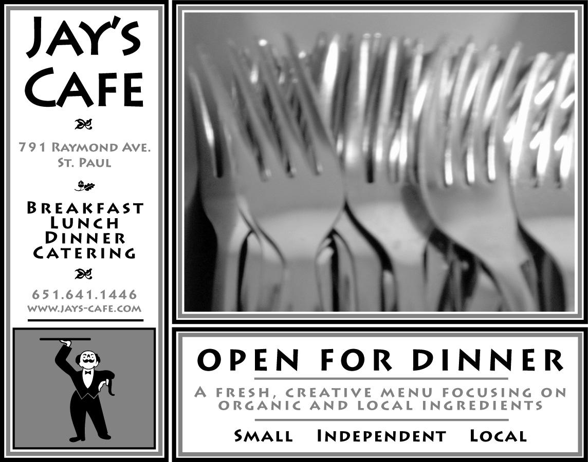 Jay's Cafe Ad #7