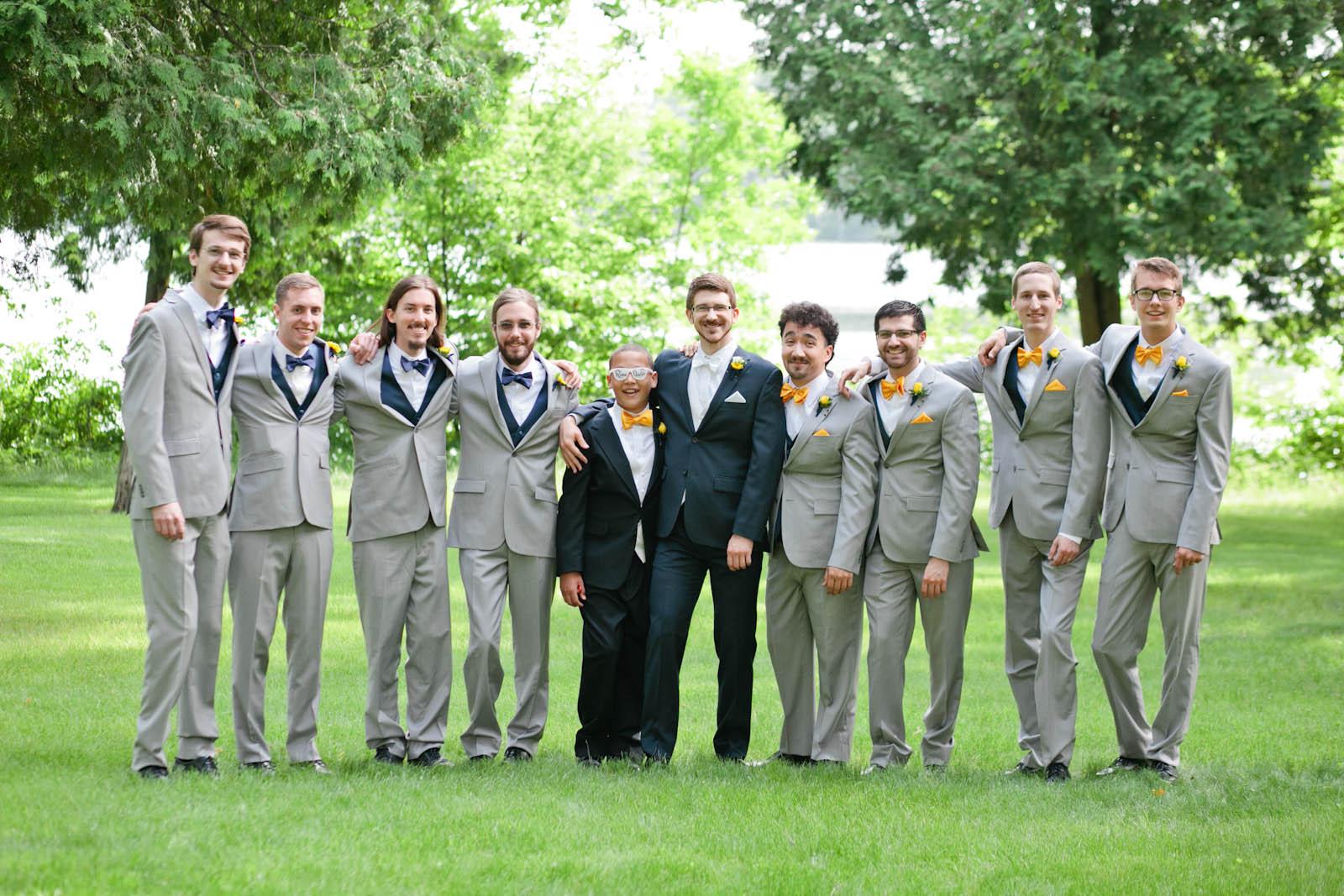 university of northwestern wedding photos