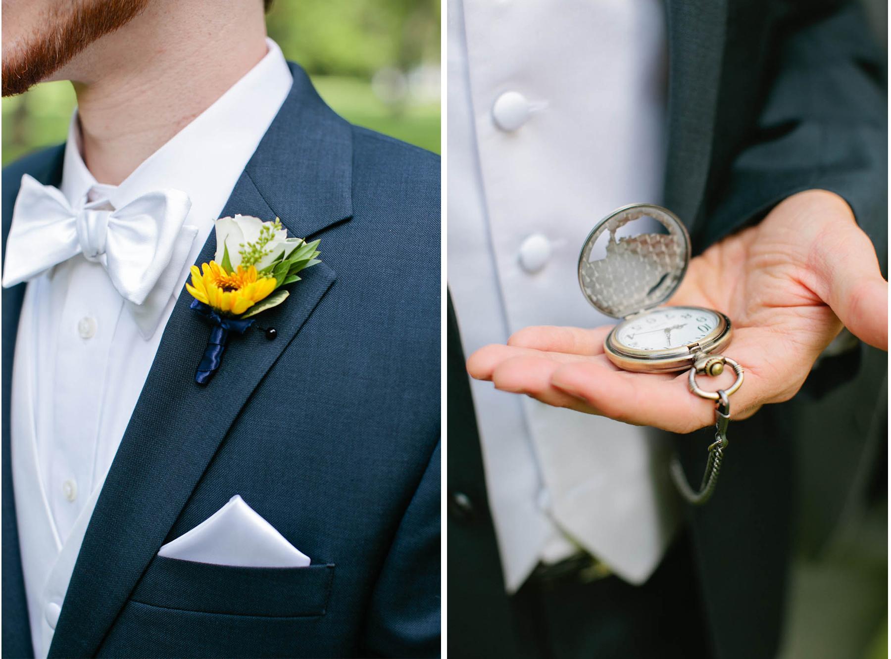 groom vintage watch boutennier
