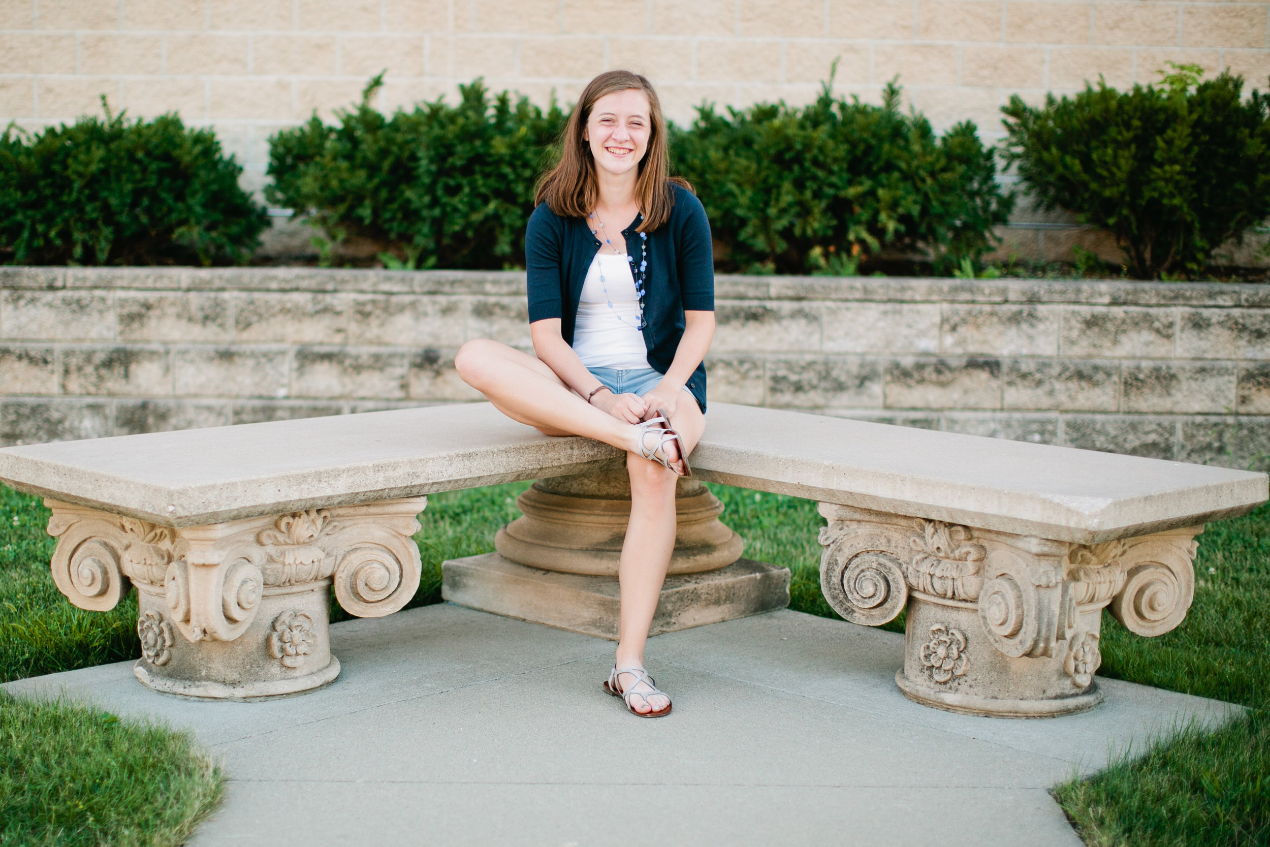 senior session by library
