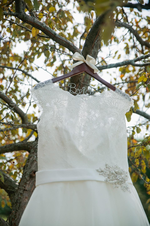 wedding dress with belt