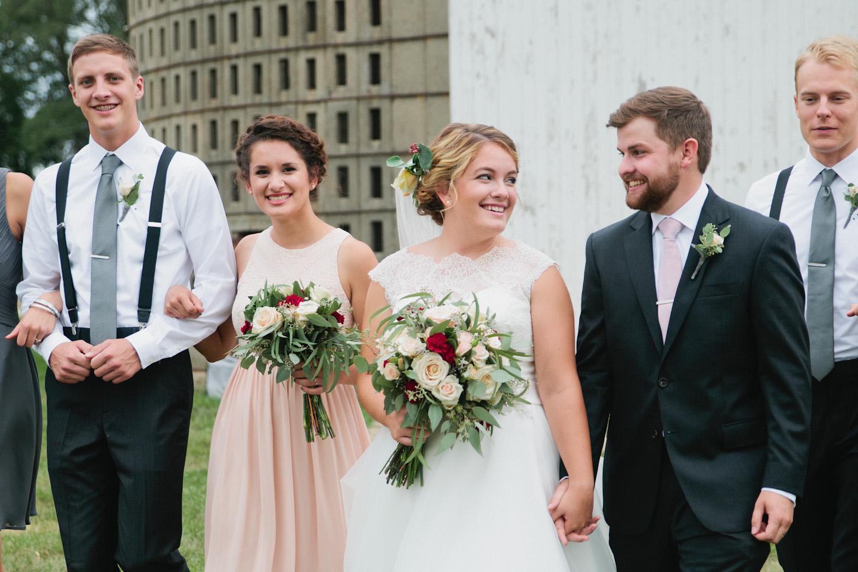 Grundy Center wedding photos