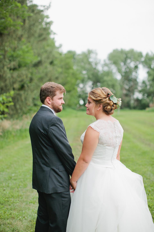 intimate wedding photos Iowa City