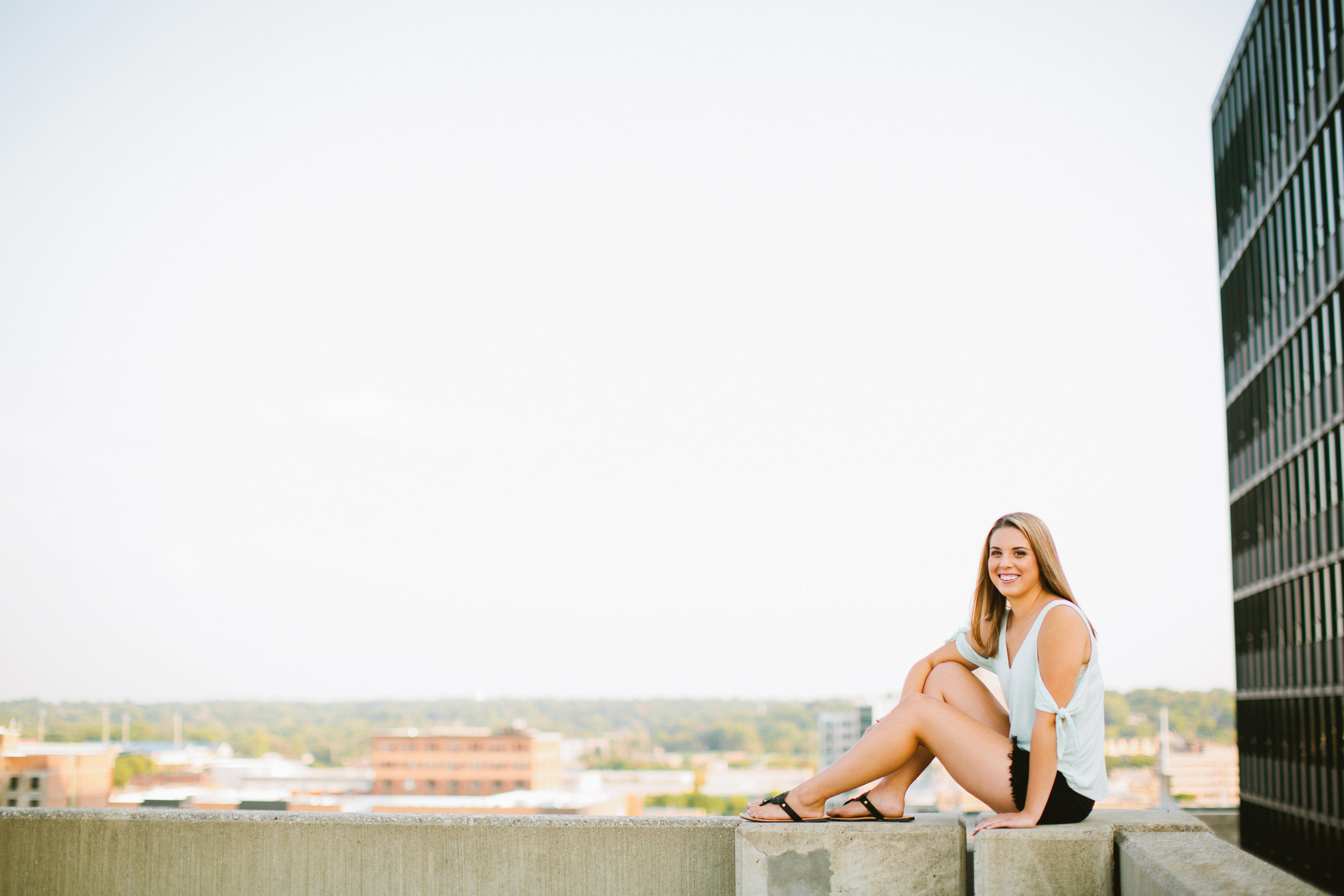 Des moines senior photography