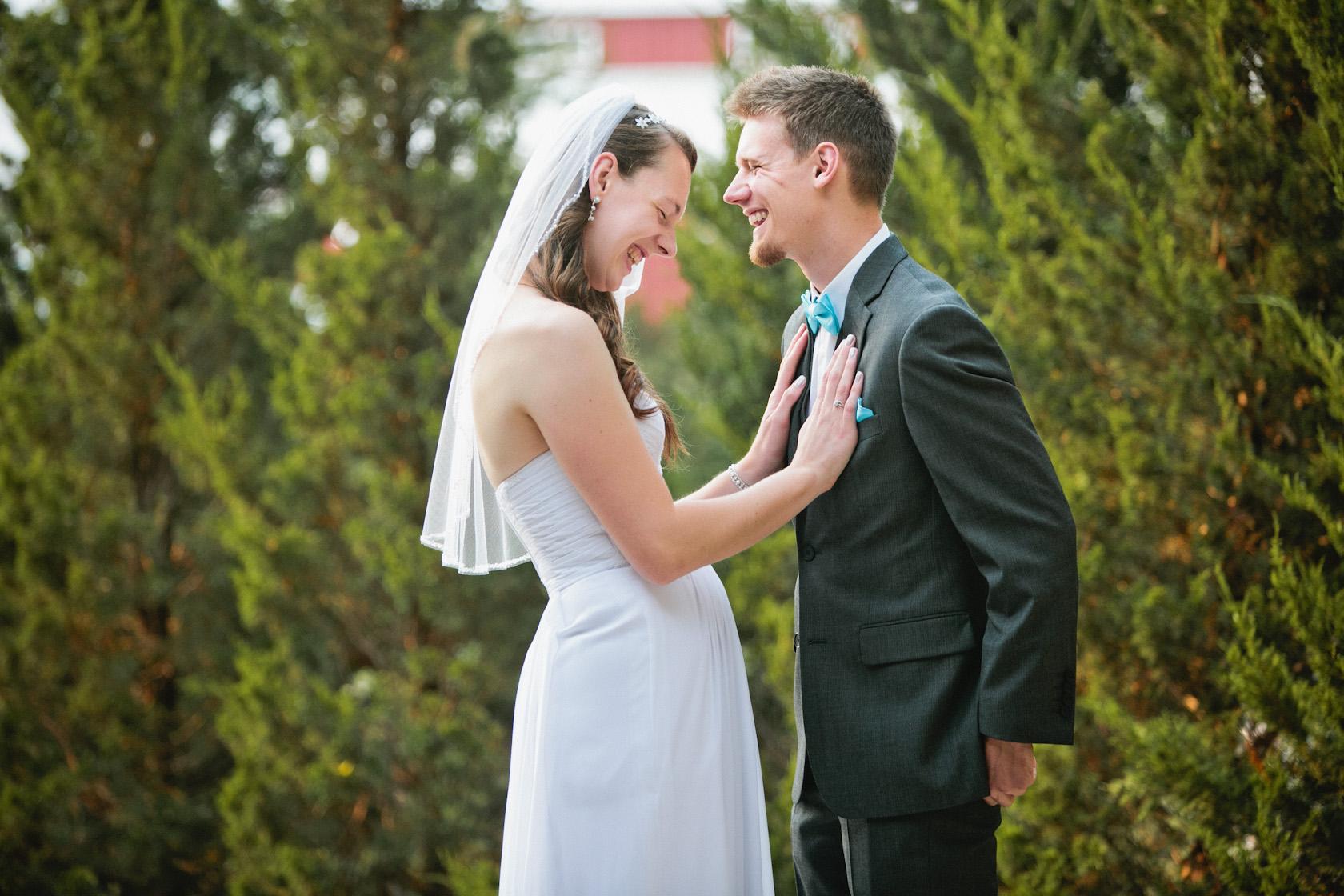 romantic wedding photograpy Cedar Falls