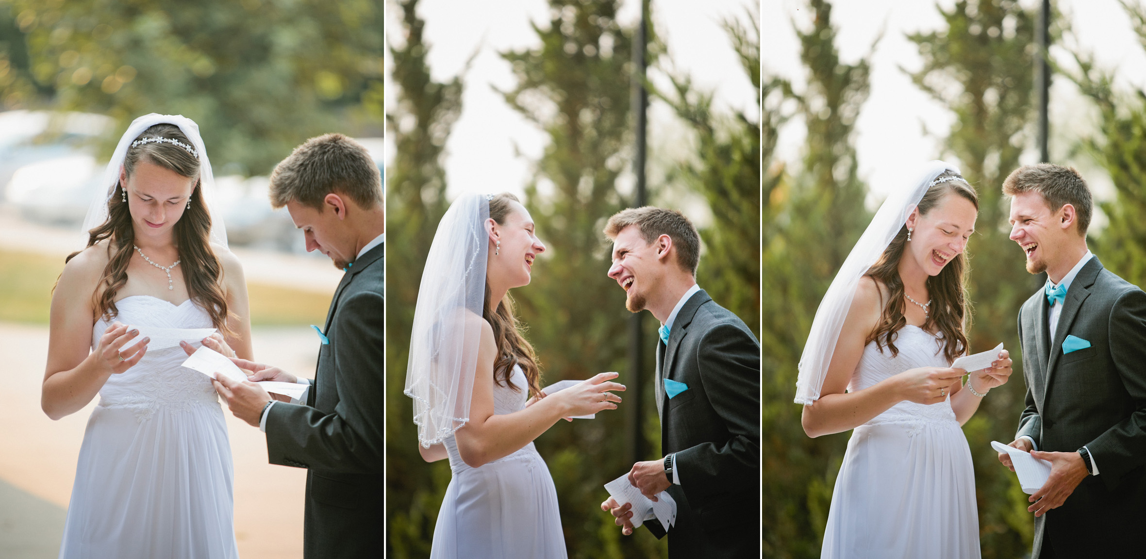 amazing first look Iowa wedding photography Des Moines