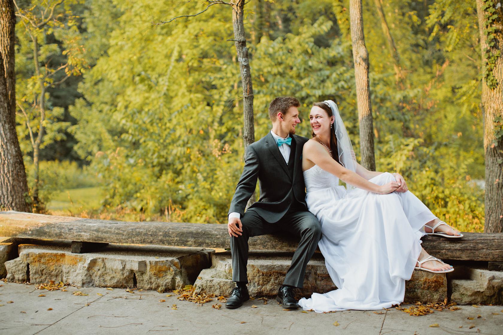 Celebration Farm wedding day photos