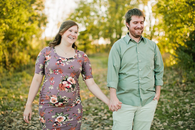 Johnston engagement photography