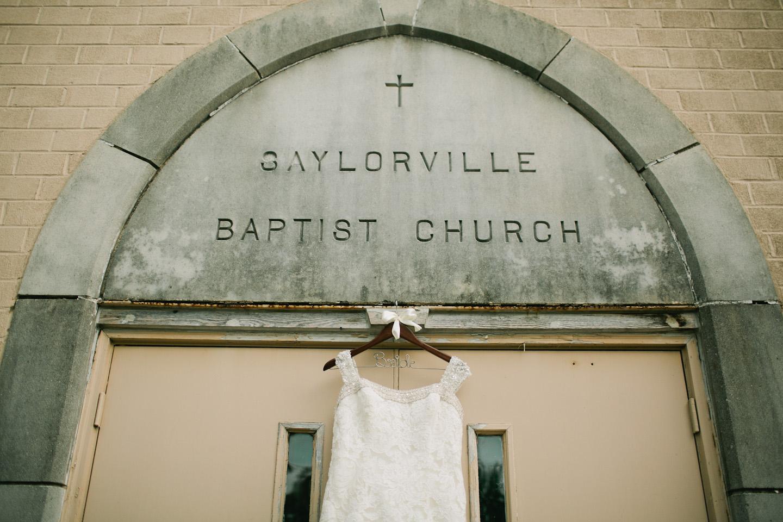 wedding at Saylorville Baptist Church Des Moines