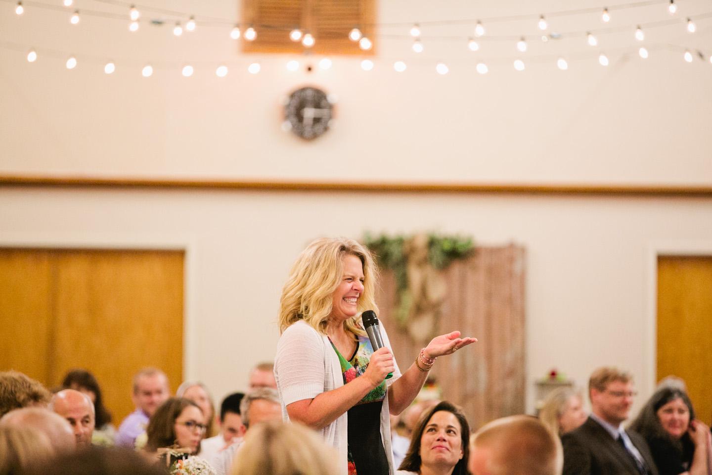 wedding reception saylorville church