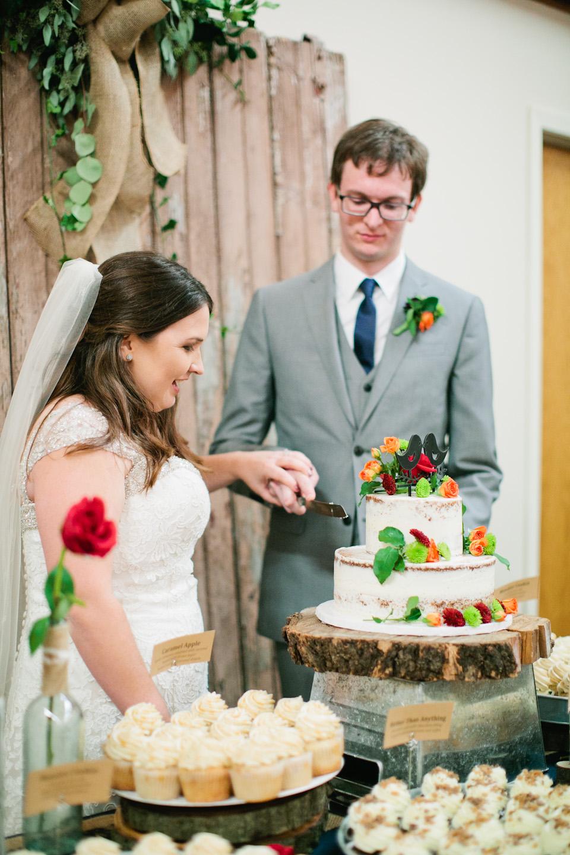 Scratch Cupcakes wedding
