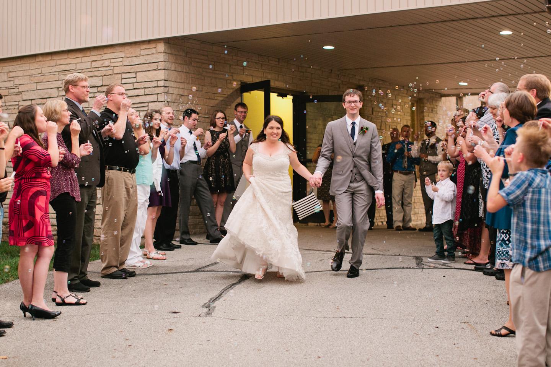 wedding day exit
