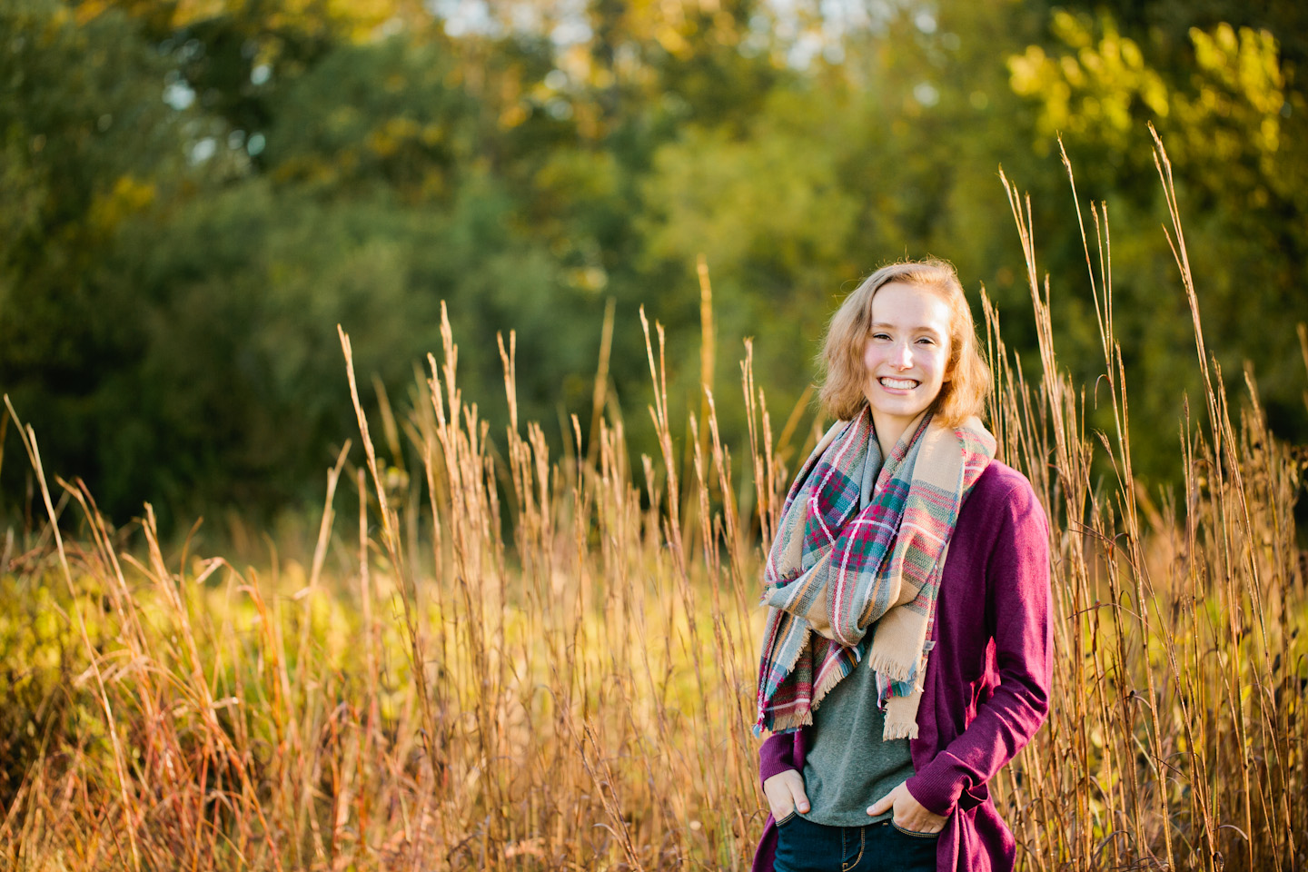 Mid-Prairie senior photographer Dowling Senior photos