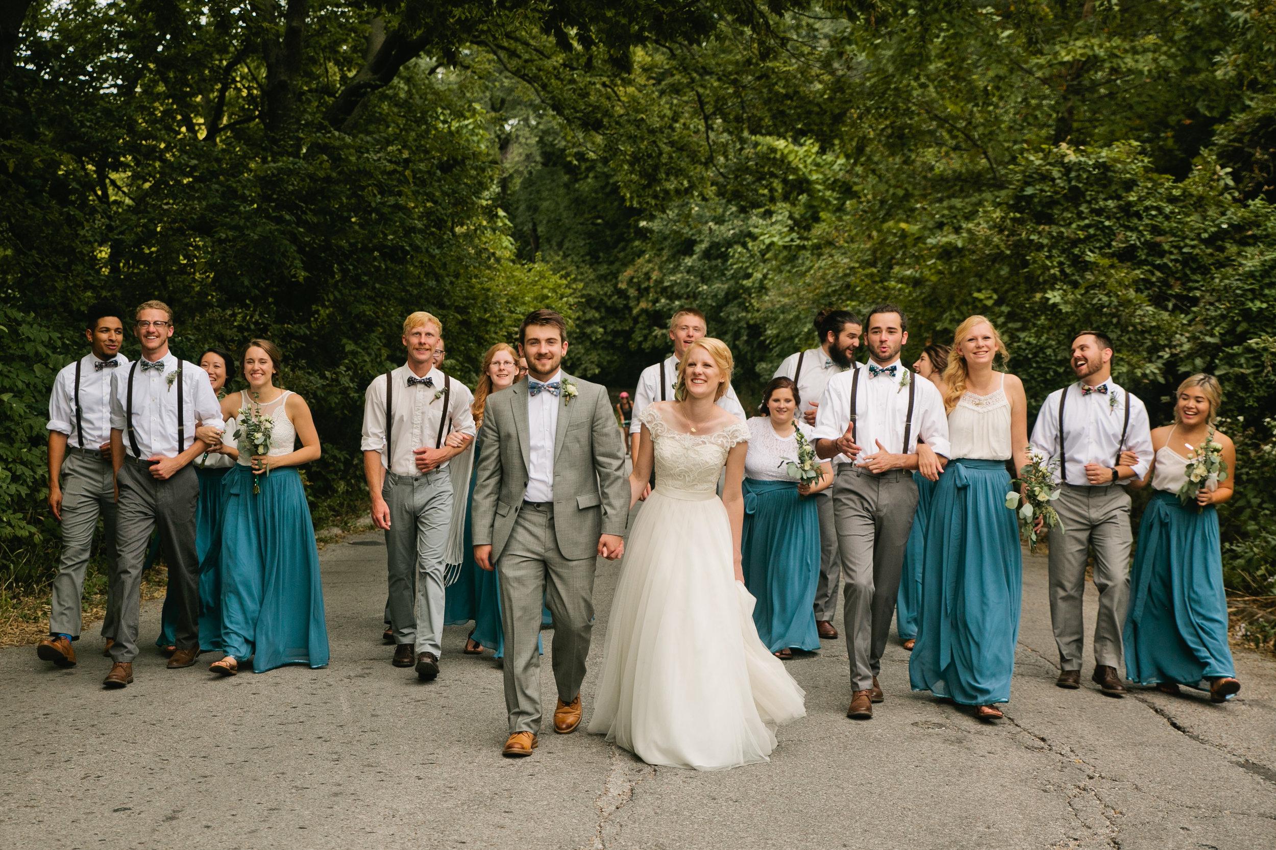Central Omaha weddings