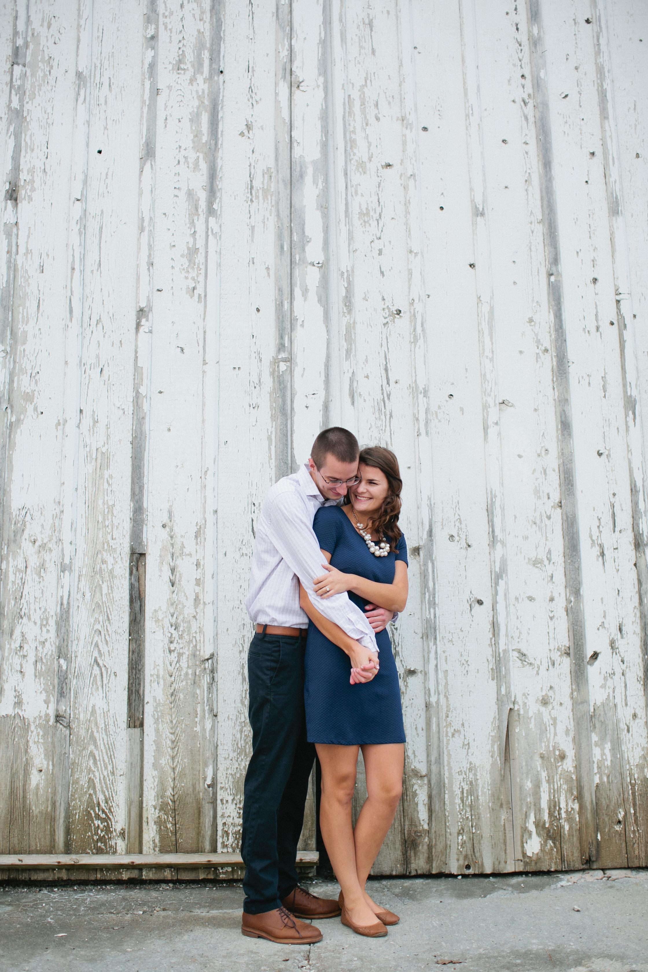 engagement photos in Des Moines